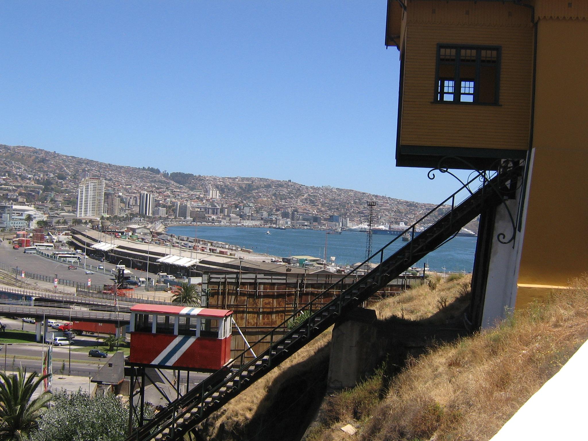 Bucht von Valparaiso
