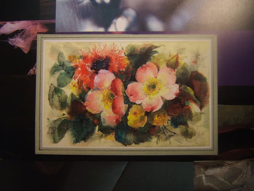 Blumen mit Hintergrund