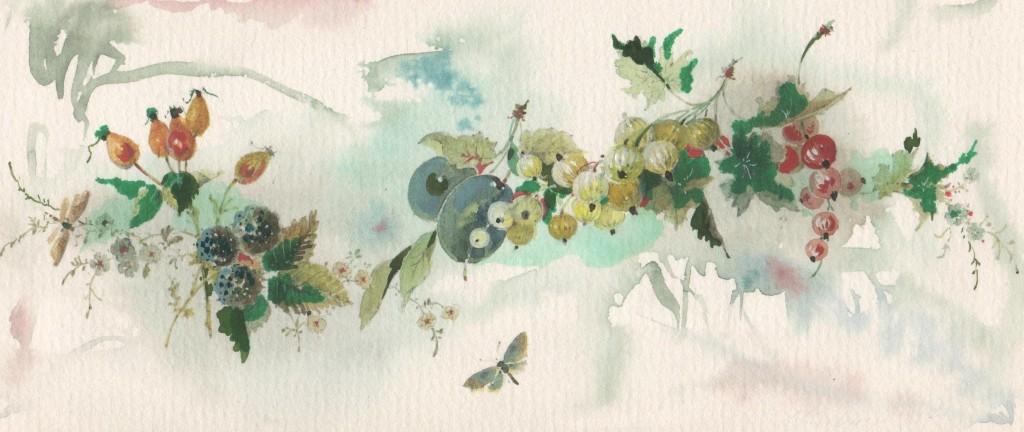Früchte und Blüten. Romanze 001